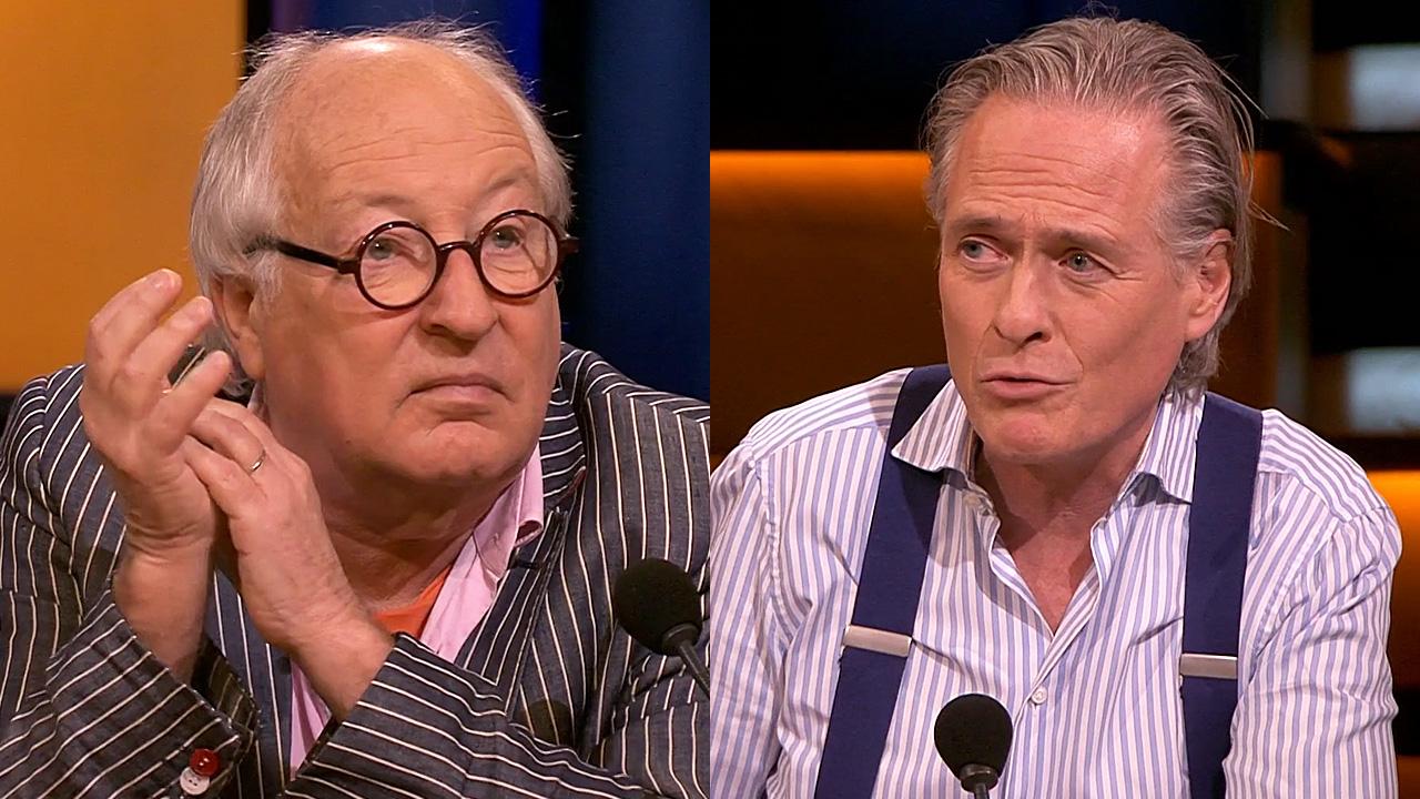 Youp van 't Hek en Jort Kelder