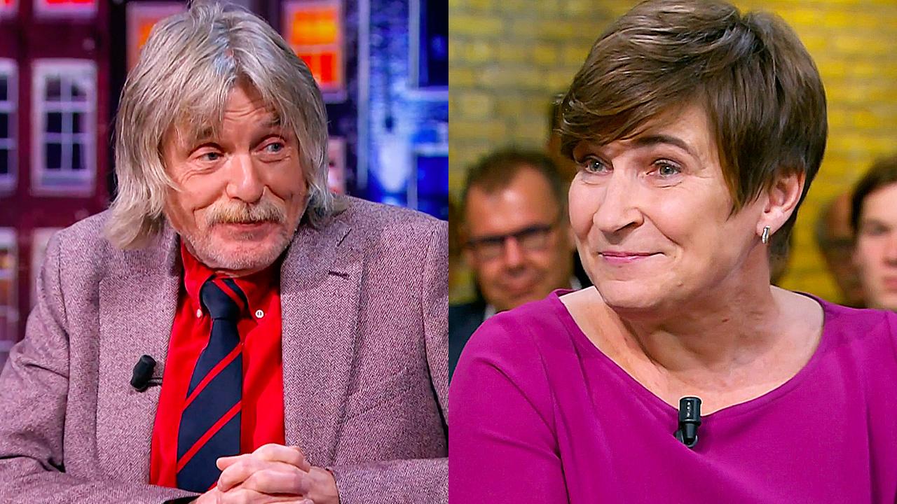 Johan Derksen en Lilianne Ploumen