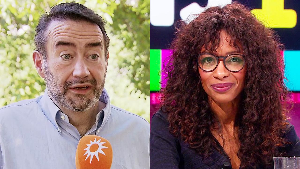 Marc van der Linden en Sylvana Simons