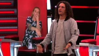 Anouk en Ali B in The Voice