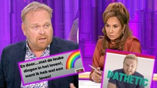 Frits Huffnagel en Patty Brard
