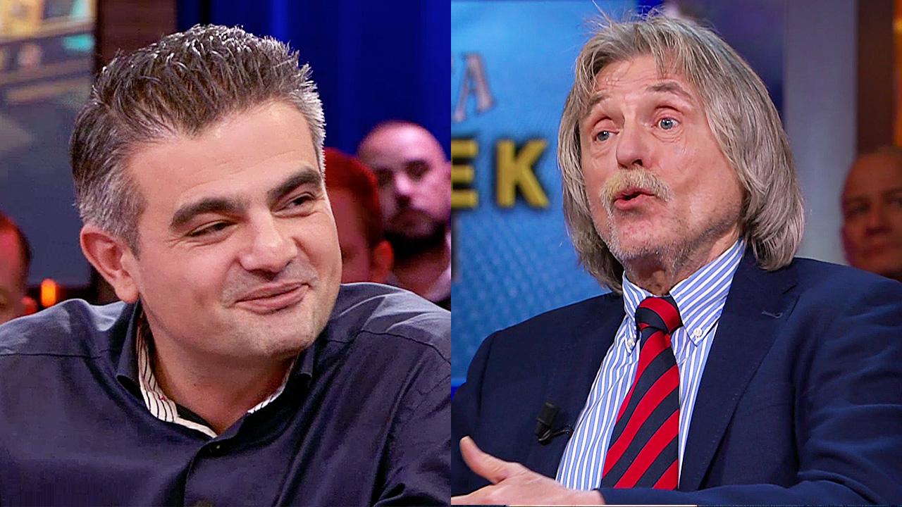 Tunahan Kuzu en Johan Derksen