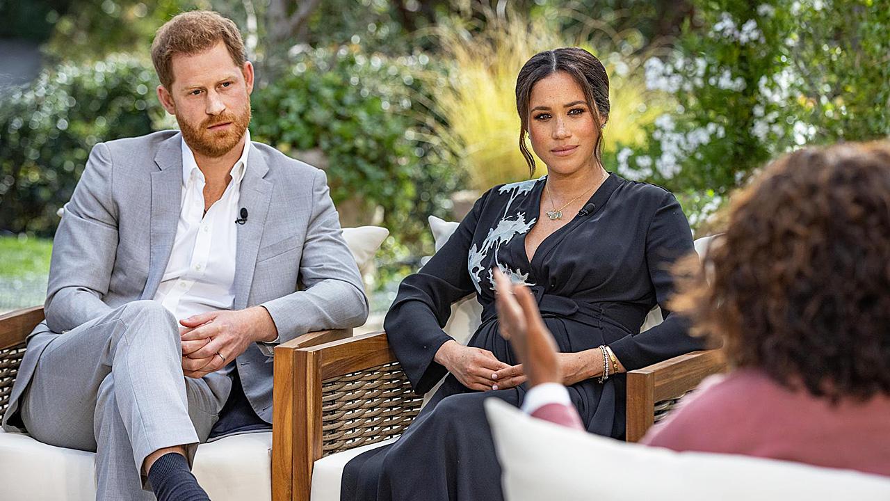 Prins Harry, Meghan Markle en Oprah Winfrey