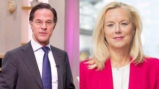Mark Rutte en Sigrid Kaag