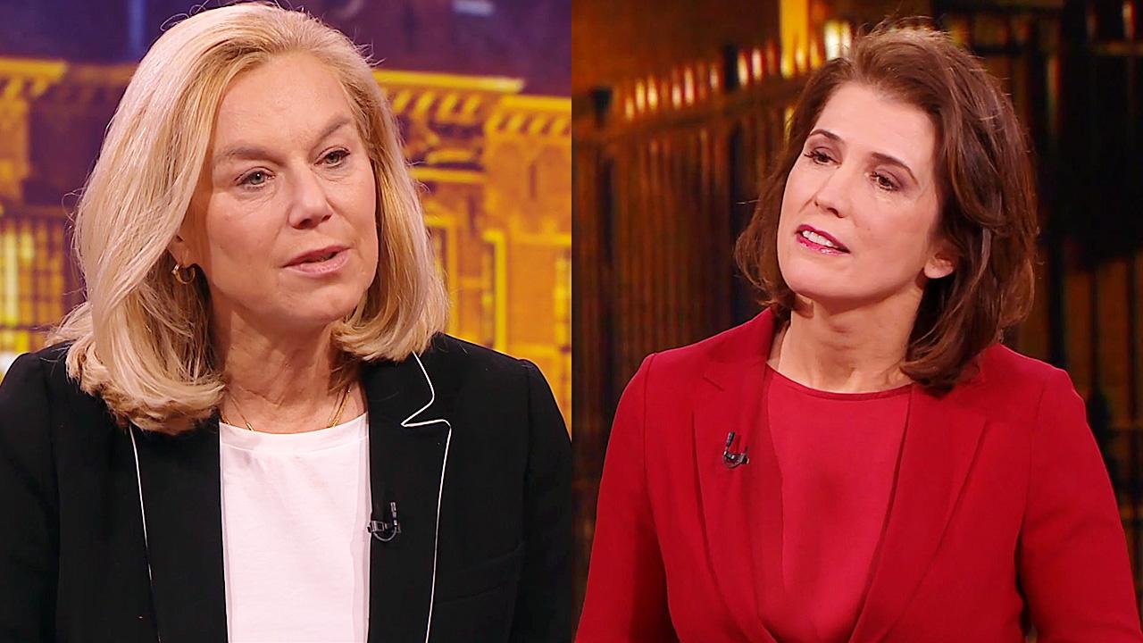 Sigrid Kaag en Mariëlle Tweebeek