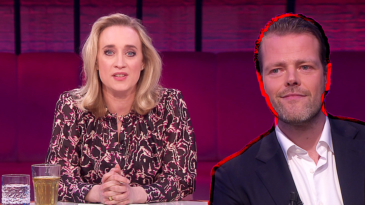 Eva Jinek en Martijn Koning