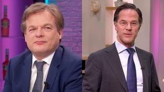 Pieter Omtzigt en Mark Rutte