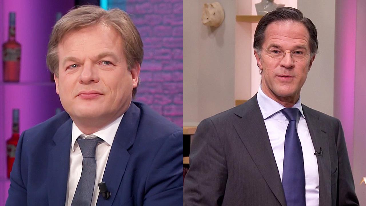 Mark Rutte weigert televisiedebat met Pieter Omtzigt