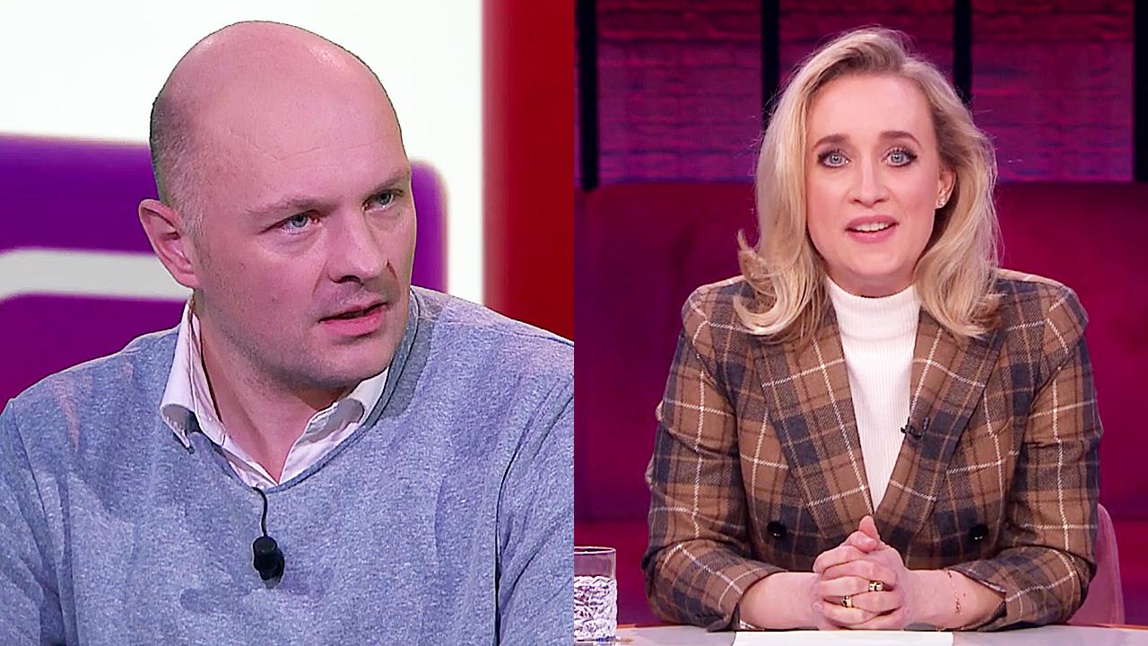 Boris van der Ham en Eva Jinek