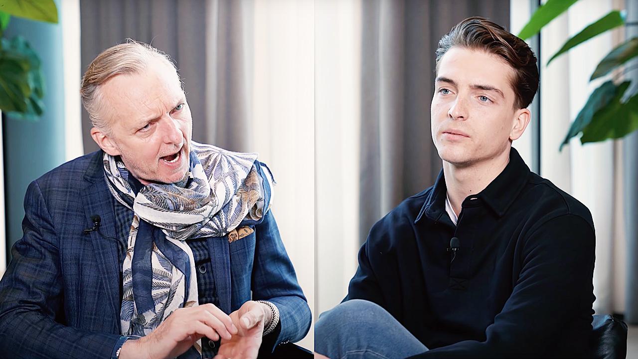 Martien Meiland en Robbert Rodenburg