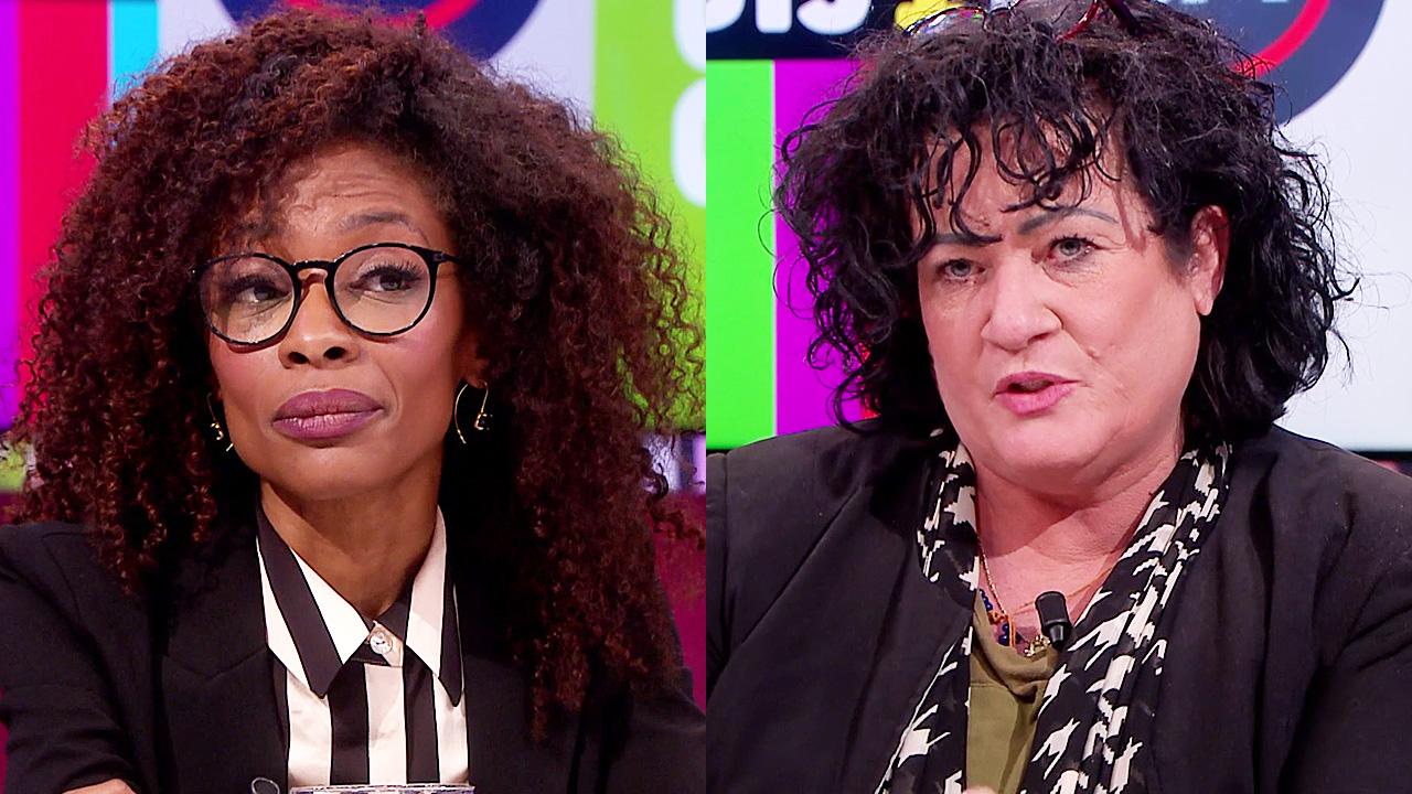 Sylvana Simons en Caroline van der Plas