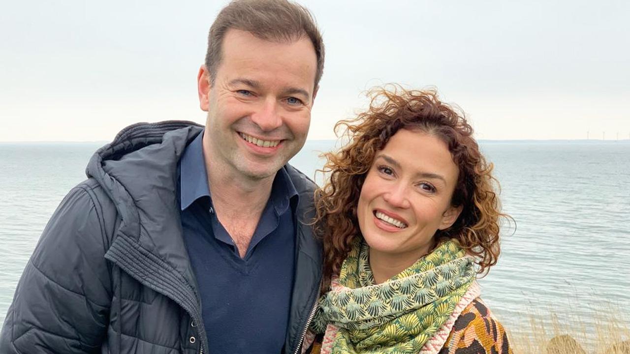 Peter van der Vorst en Katja Schuurman