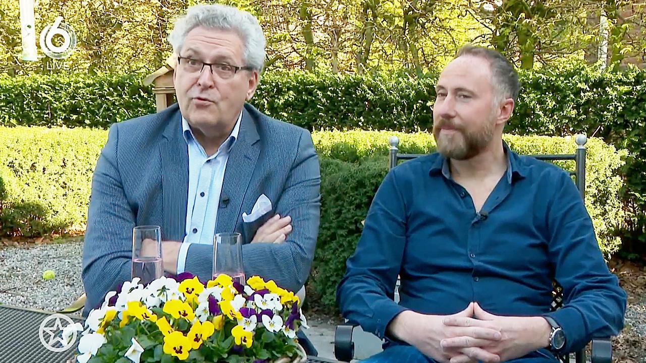 Henk Krol en verloofde