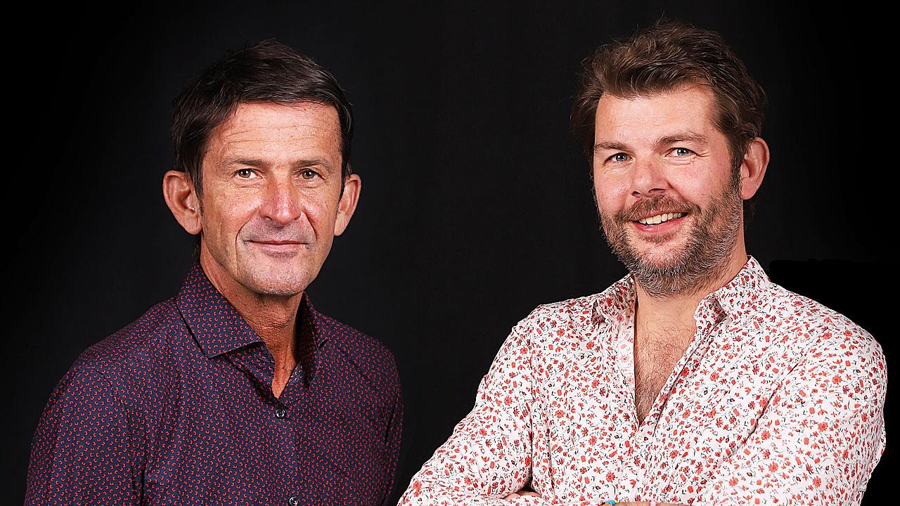 Cornald Maas en Sander Lantinga