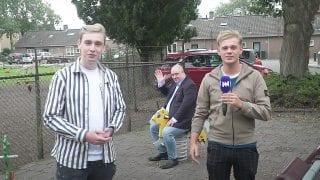 Nicky van der Gijp en Dennis Schouten