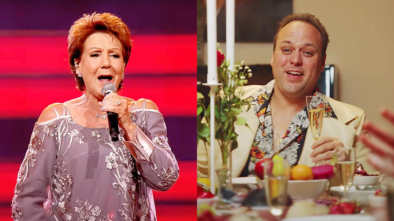 Marianne Weber en Frans Bauer