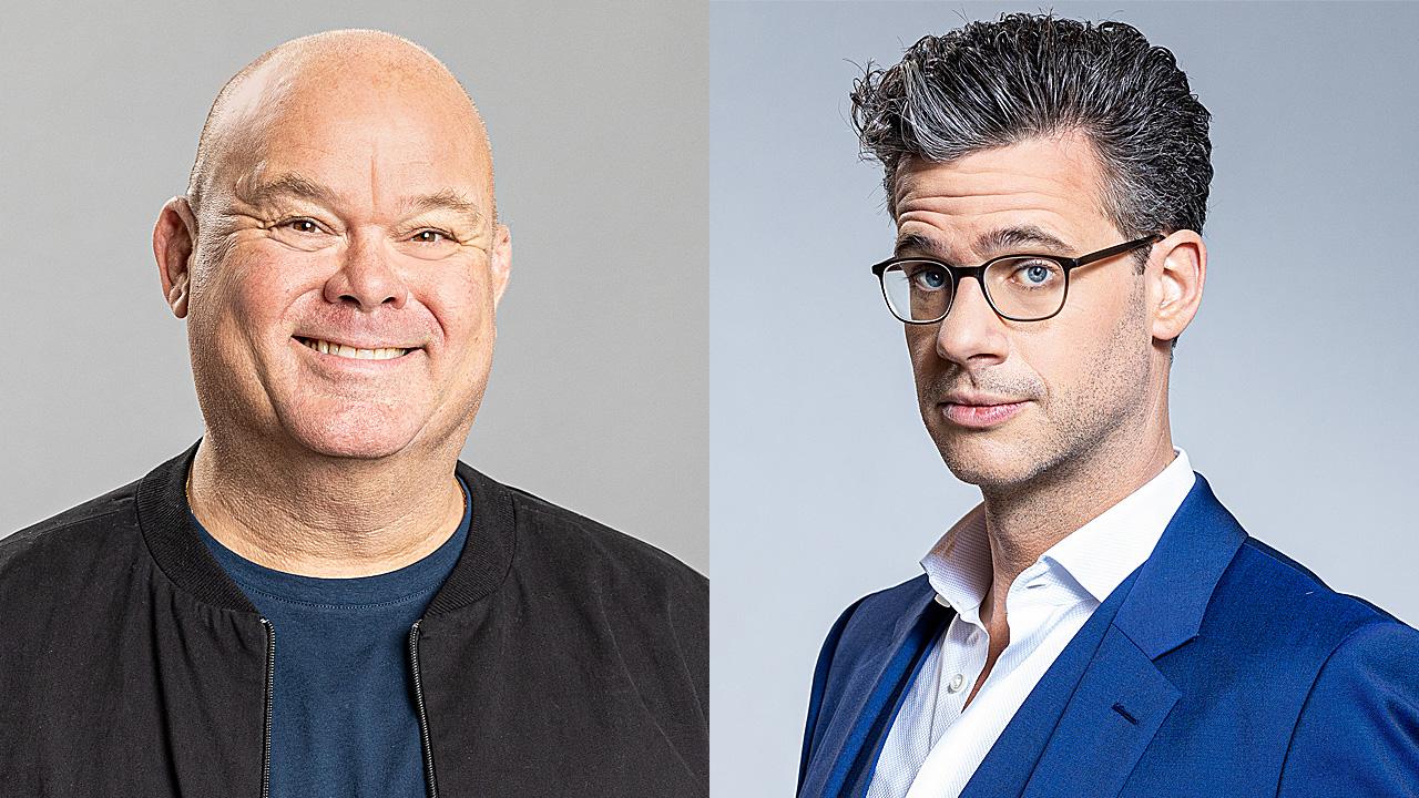 Paul de Leeuw en Erik Dijkstra