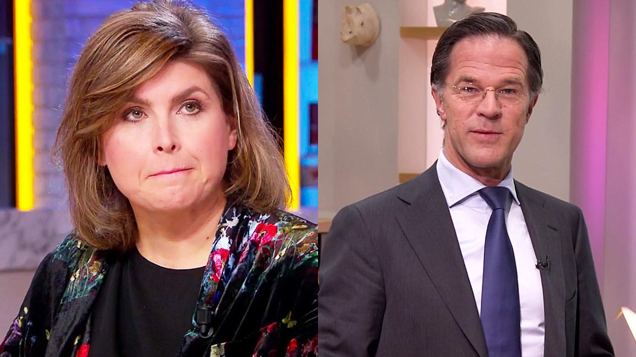 Angela de Jong en Mark Rutte