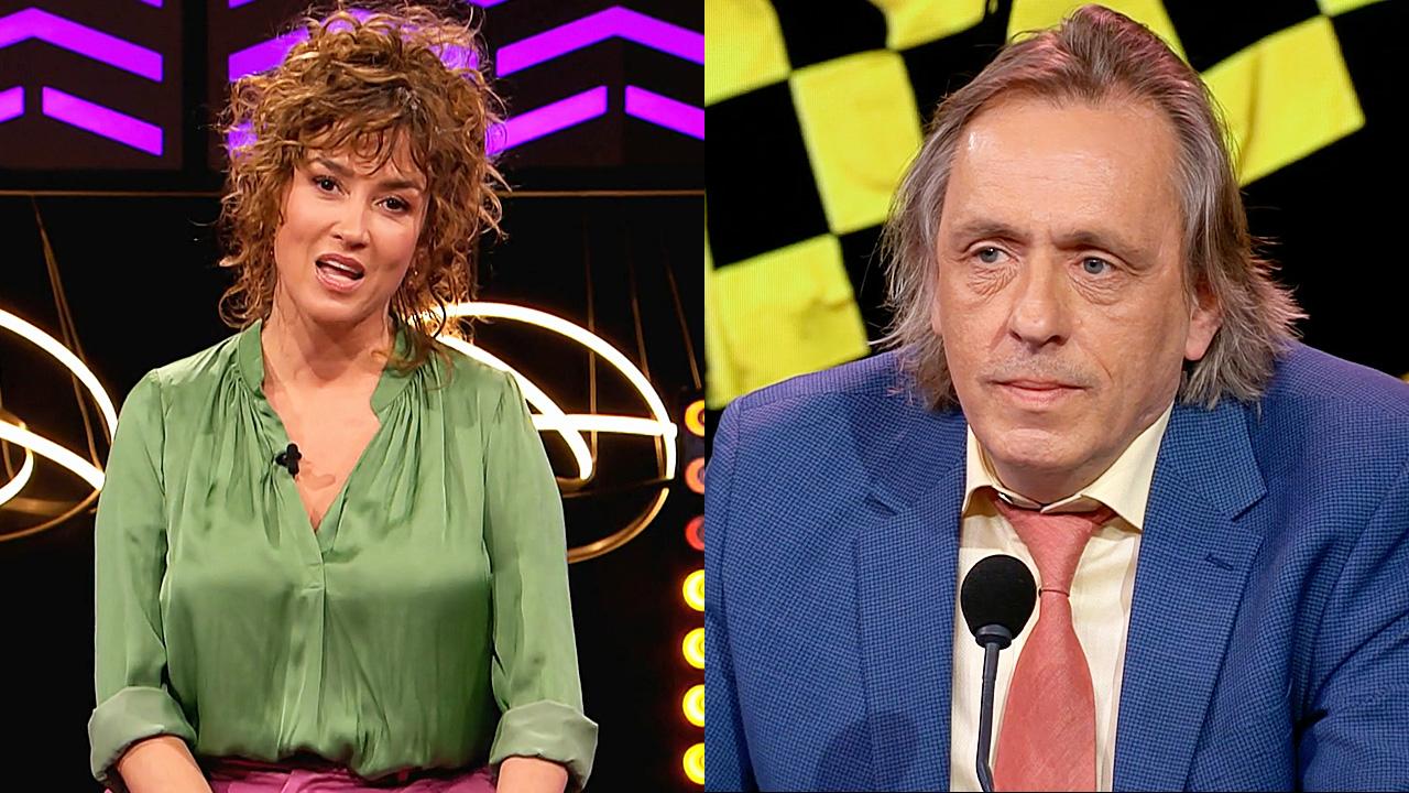 Katja Schuurman en Marcel van Roosmalen