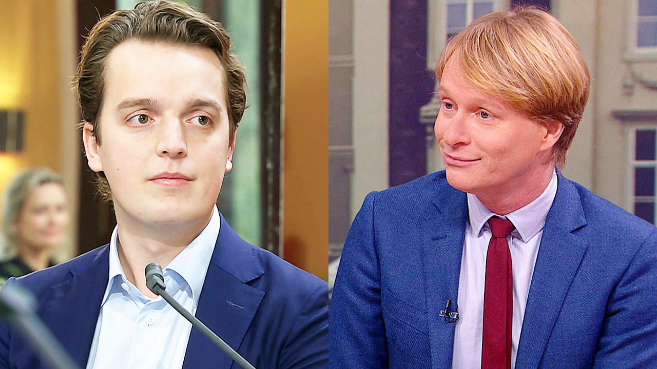 Sywert van Lienden en Arjan Noorlander