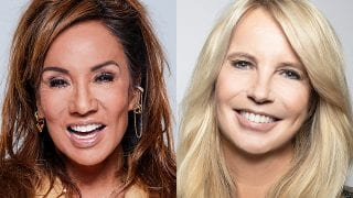 Patty Brard en Linda de Mol