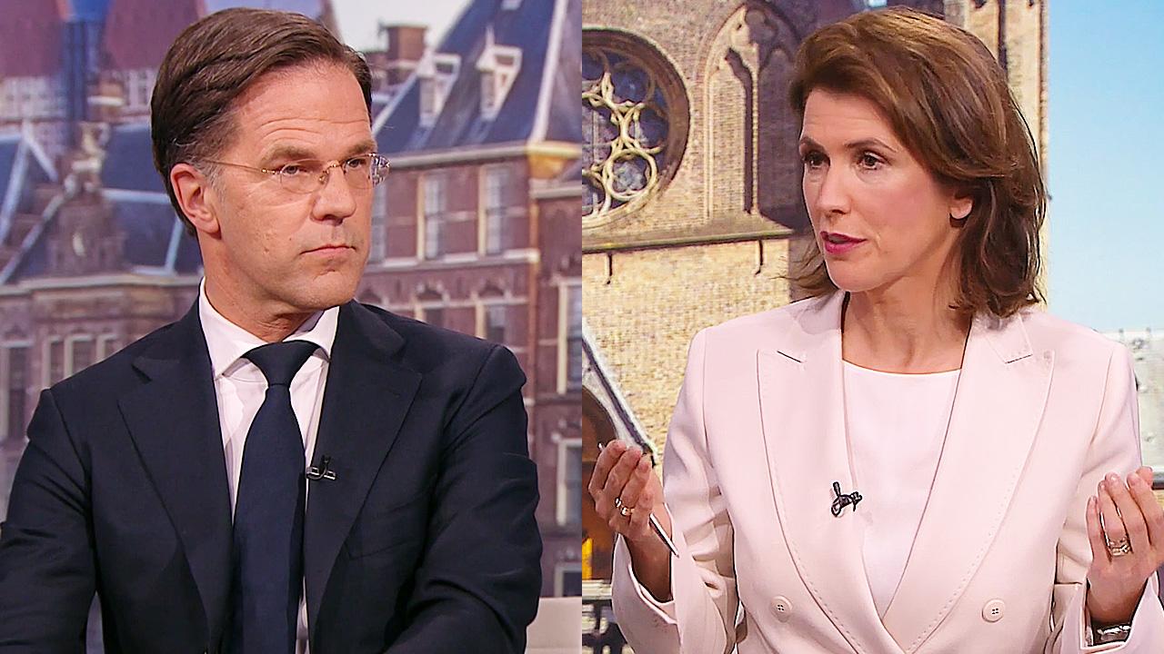 Mark Rutte en Mariëlle Tweebeeke