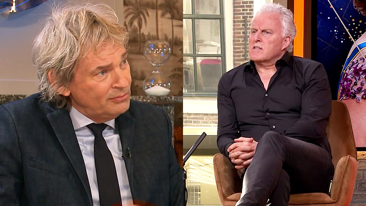 Matthijs van Nieuwkerk en Peter R. de Vries