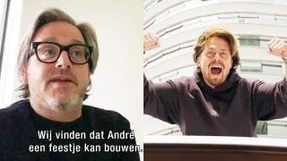 Guus Meeuwis en André Hazes jr.