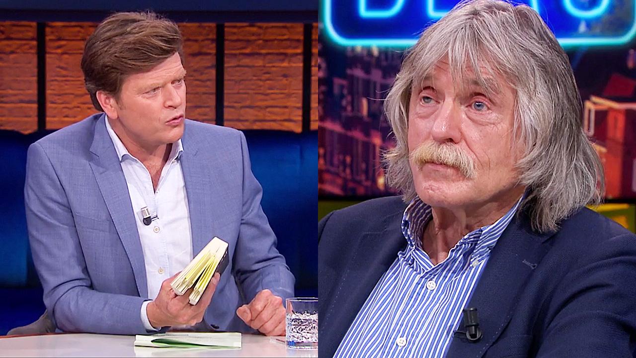 Beau van Erven Dorens en Johan Derksen