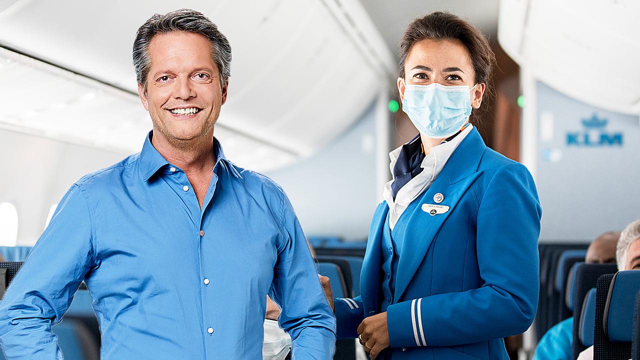 Guido den Aantrekker en KLM