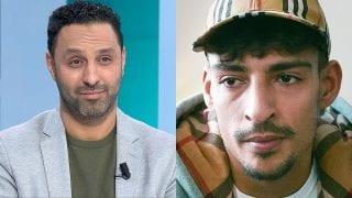 Khalid Kasem en rapper Boef