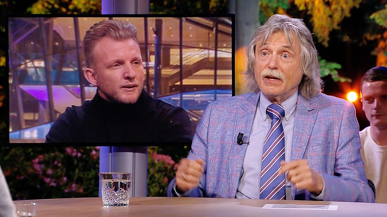 Dirk Kuijt en Johan Derksen