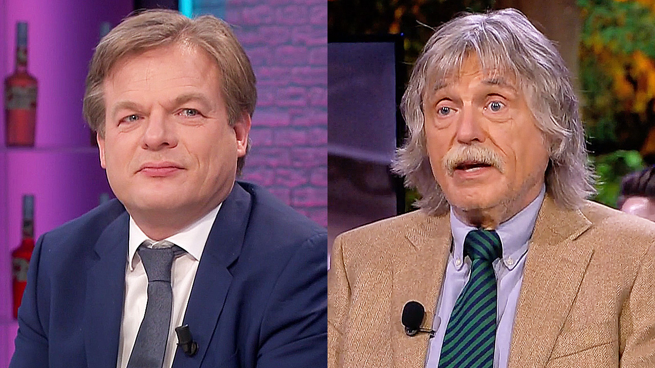 Pieter Omtzigt en Johan Derksen