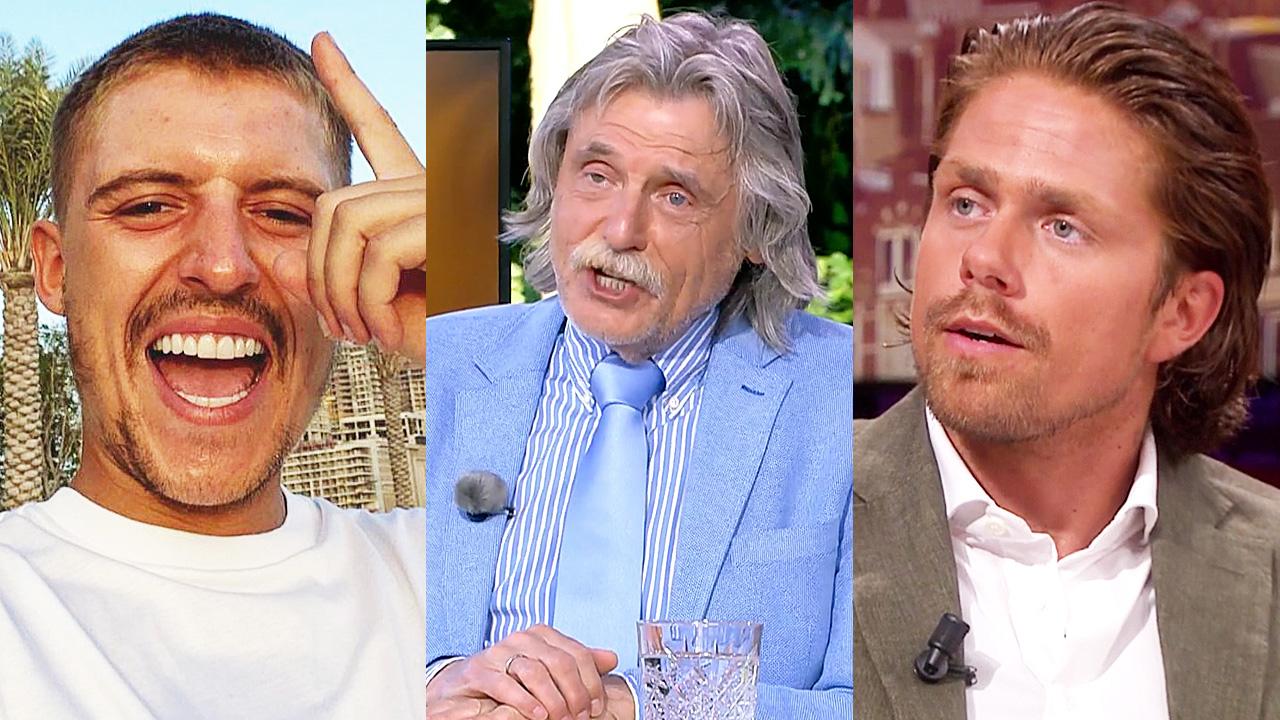 Lil' Kleine, Johan Derksen en André Hazes jr.