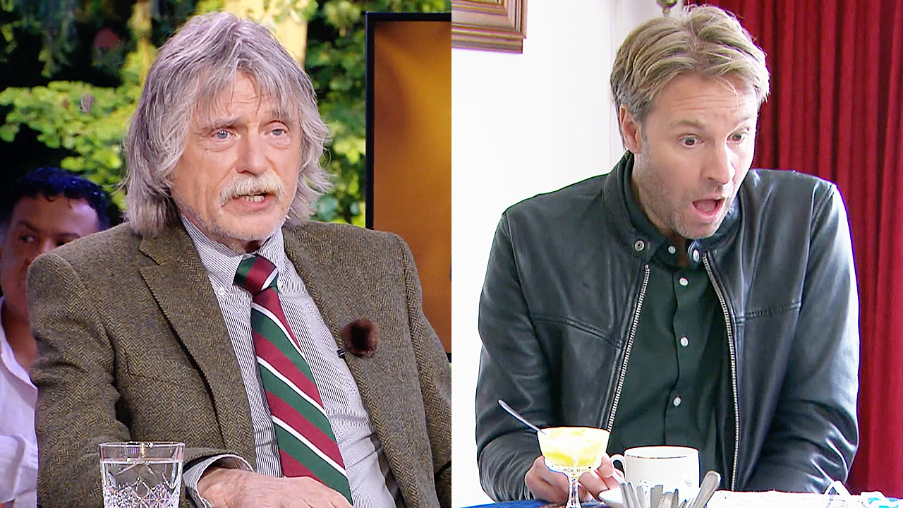 Johan Derksen en Viktor Brand