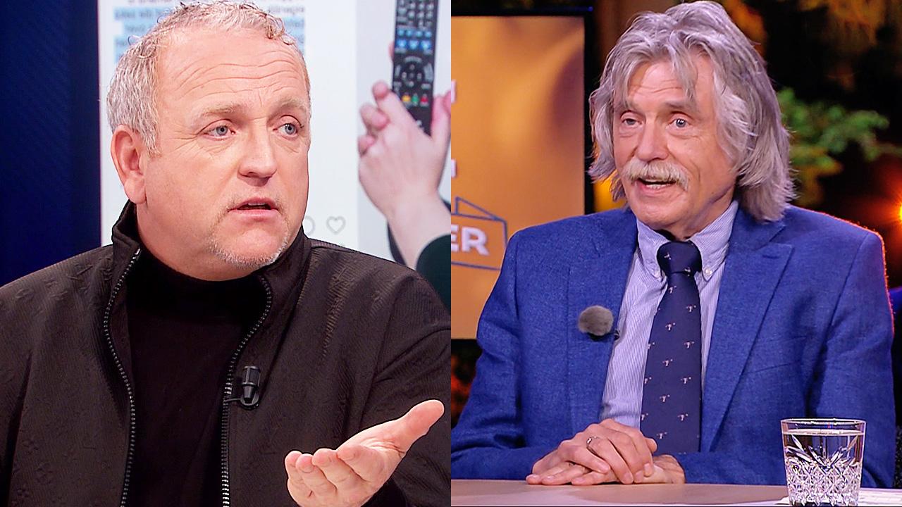 Gordon en Johan Derksen