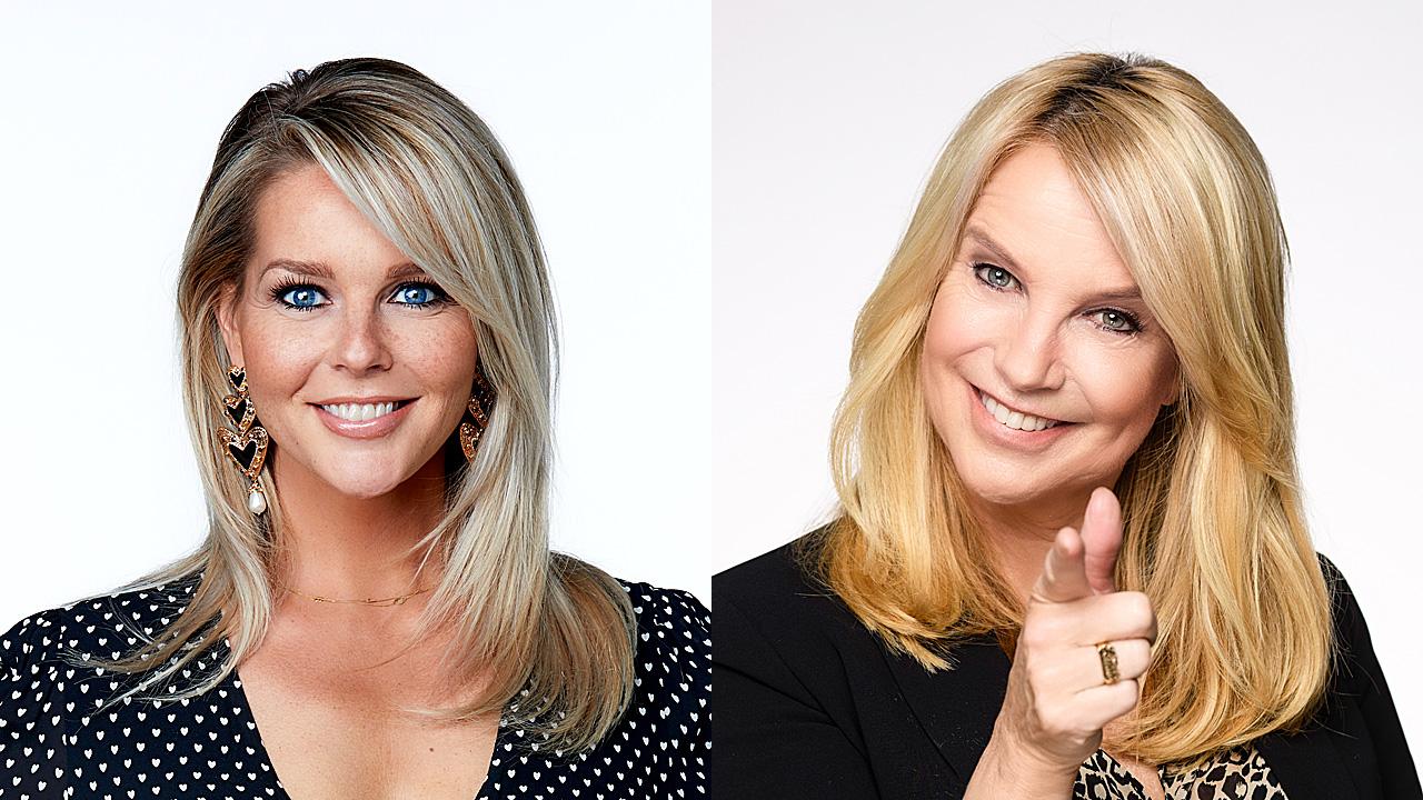 Chantal Janzen en Linda de Mol