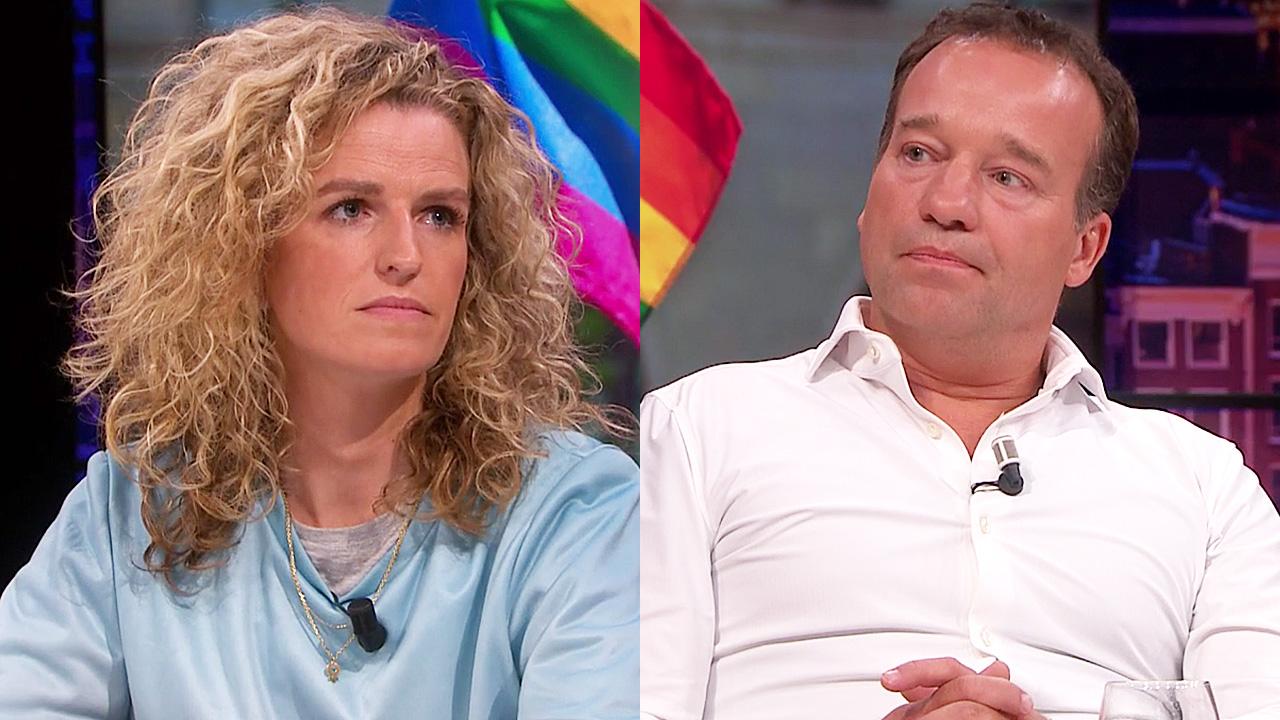 Carolien Borgers en Mick van Wely