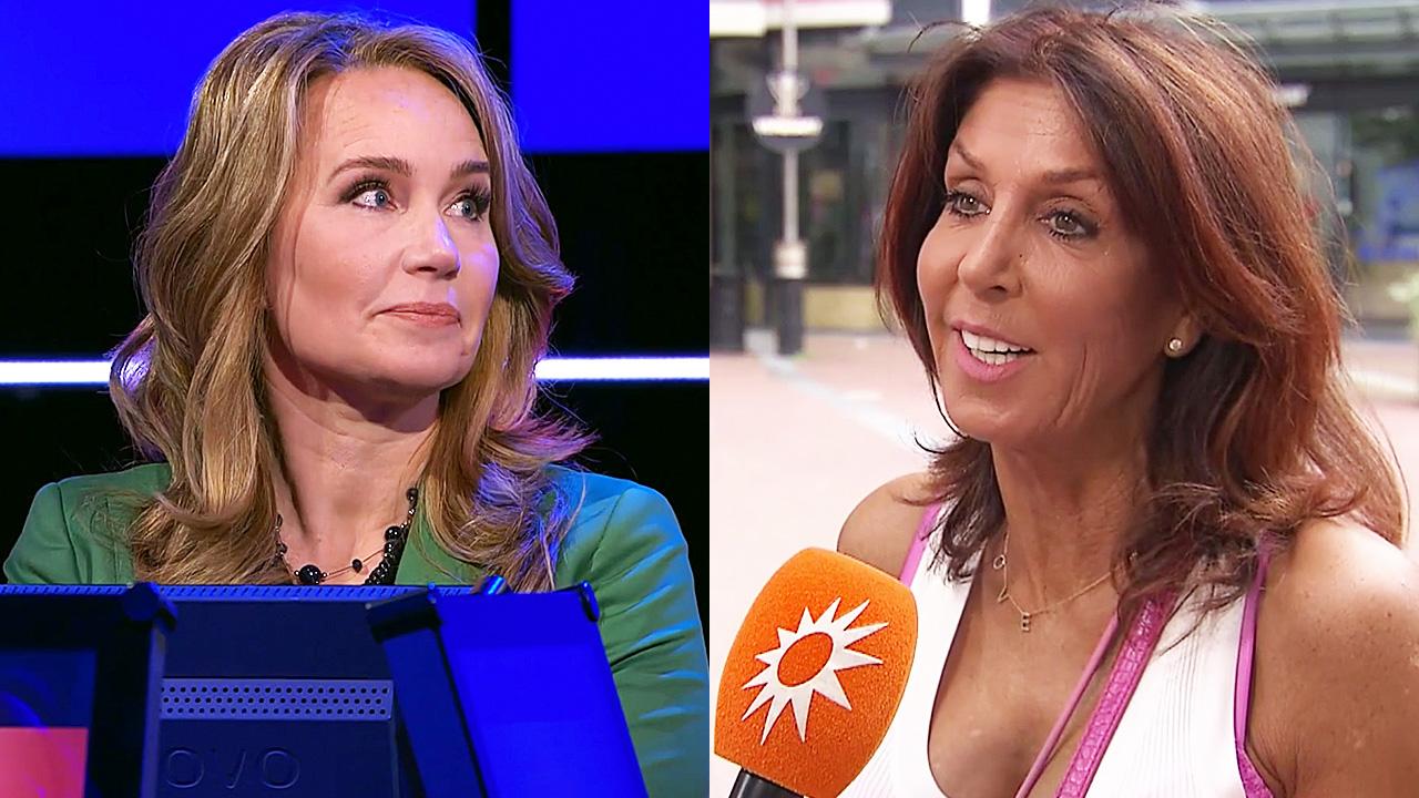 Helga van Leur en Rachel Hazes