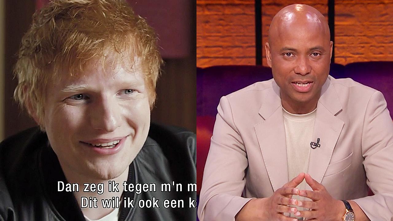 Ed Sheeran en Humberto Tan