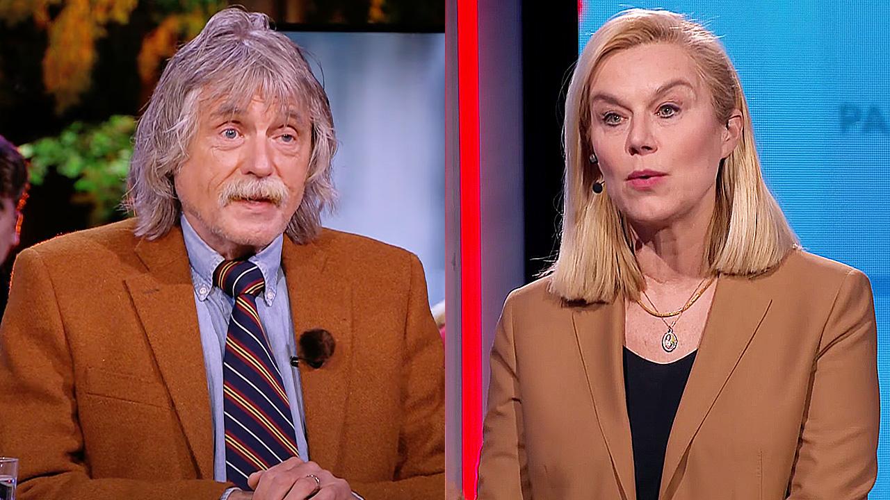 Johan Derksen en Sigrid Kaag