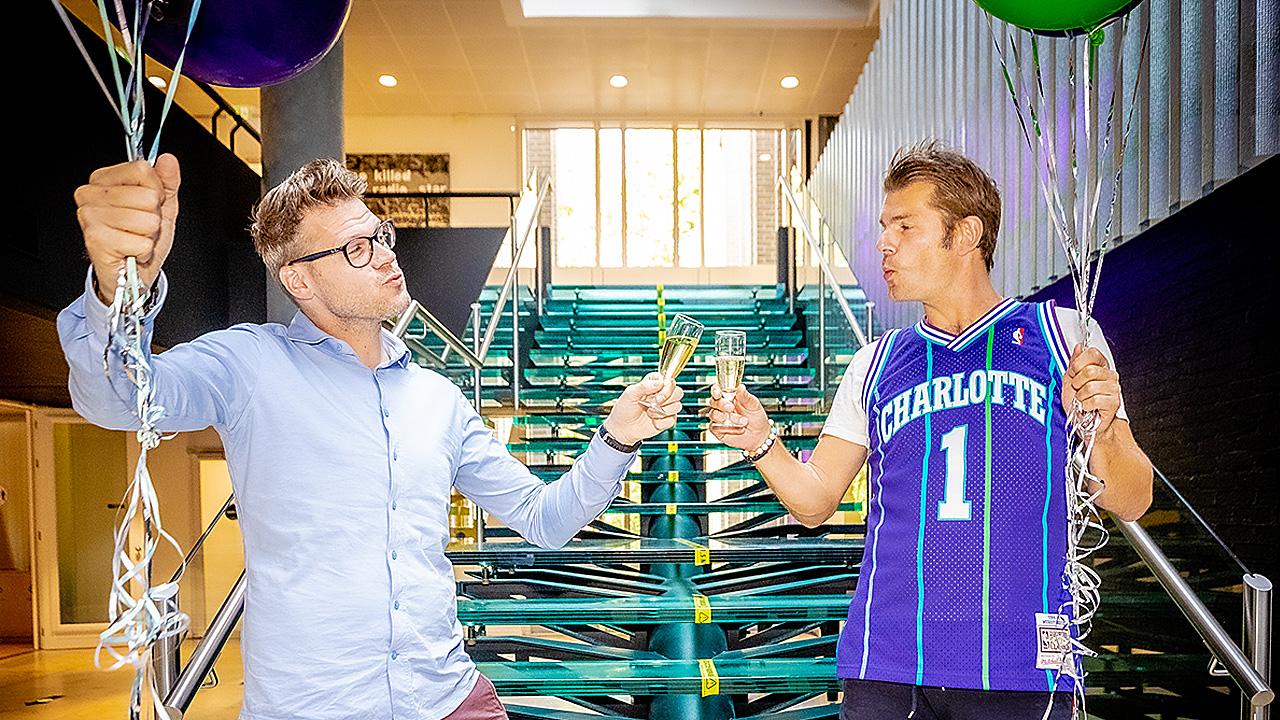 Coen Swijnenberg en Sander Lantinga