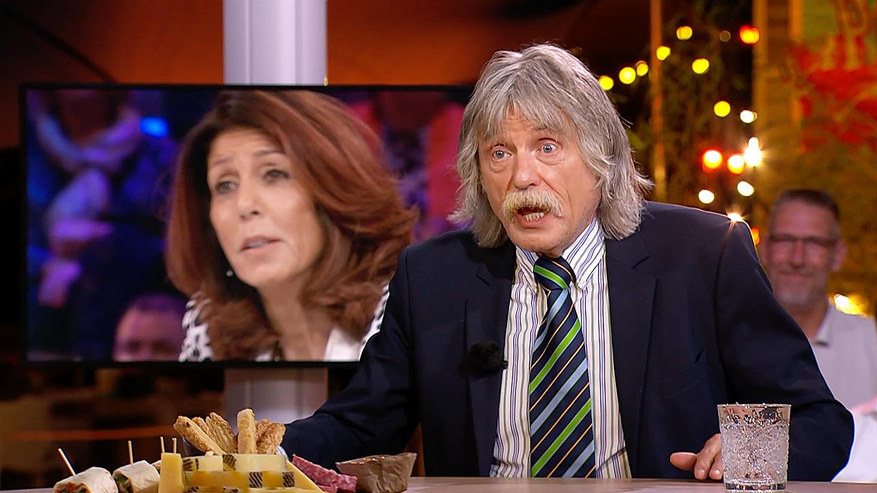 Johan Derksen en Rachel Hazes