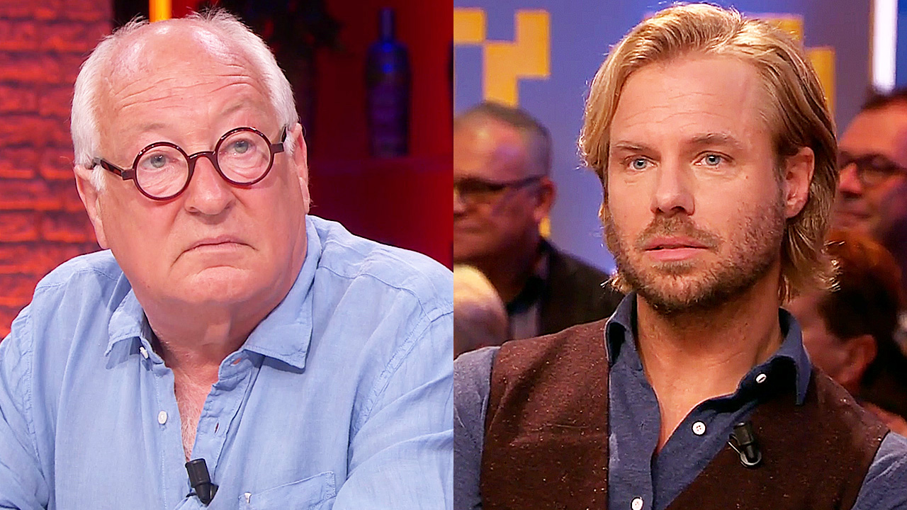 Youp van 't Hek en Thijs Römer