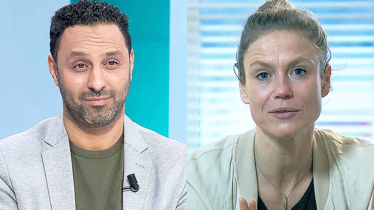 Khalid Kasem en Sophie Hilbrand