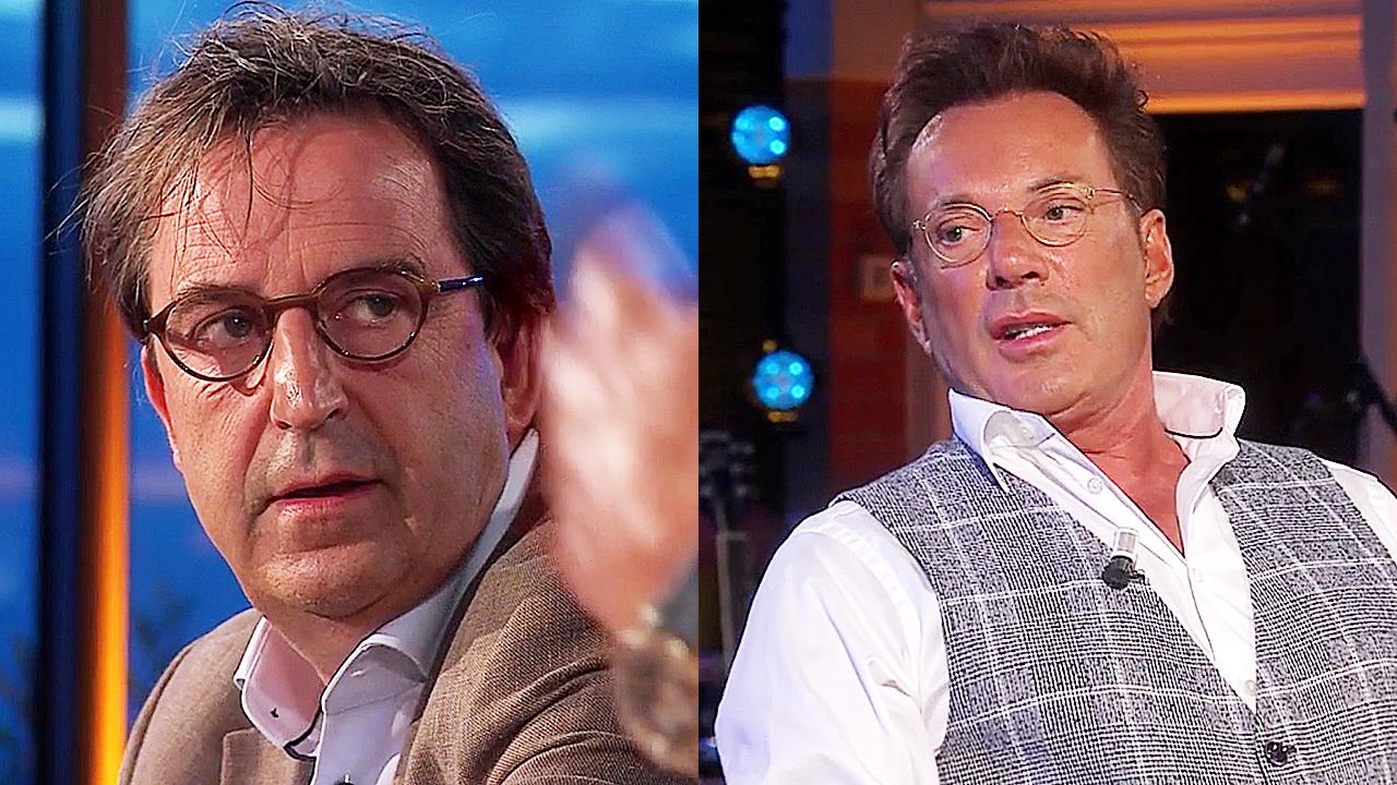 Diederik Gommers en Gerard Joling