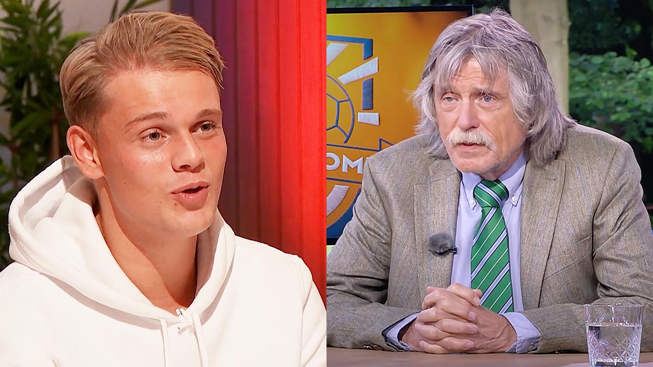 Dennis Schouten en Johan Derksen