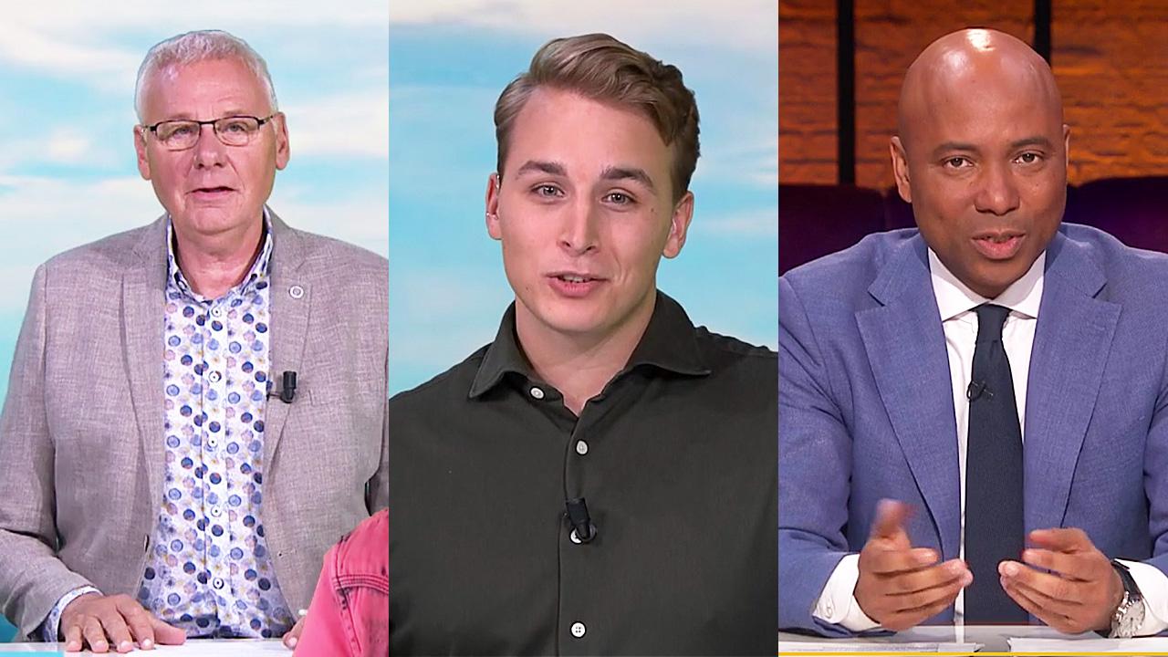 Jan de Hoop, Boyan Ephraim en Humberto Tan