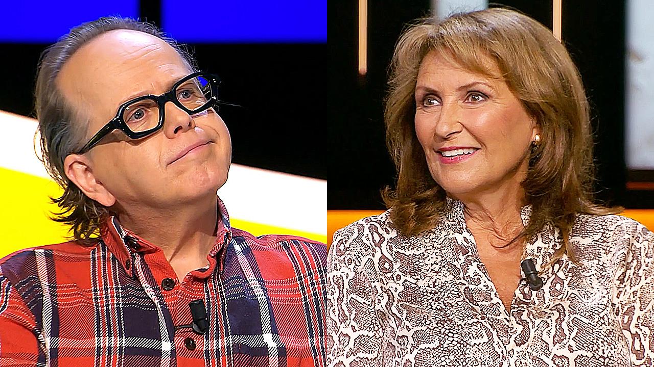 Marc-Marie Huijbregts en Astrid Joosten