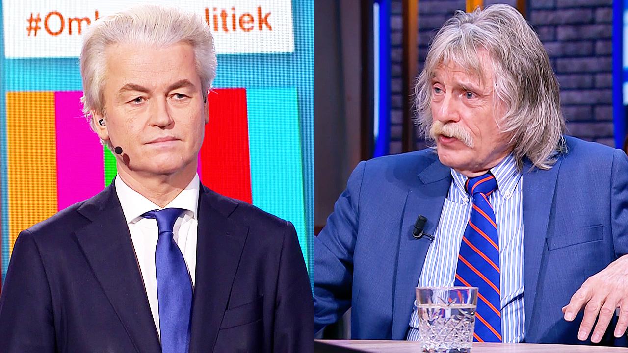 Geert Wilders en Johan Derksen